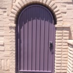 purple screen door image