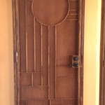 art deco screen door image