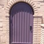 purple screen door image
