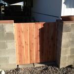 wooden side gate image
