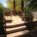 metal stair handrails image