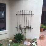 metal mounted gate image