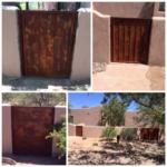 rust finished custom security doors image